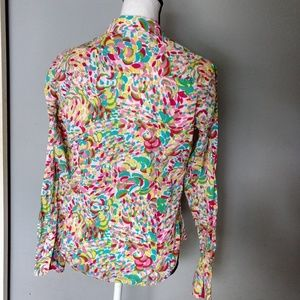 Lilly Pulitzer tailored button down shirt